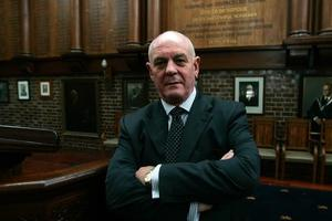 John Morris, principal of Auckland Grammar School. Photo / Doug Sherring