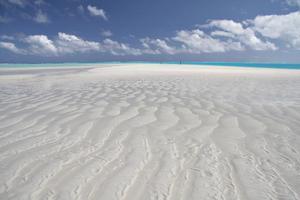 Aitutaki's lagoon covers acres of warm, crystal-clear water. Photo / Joe Powers