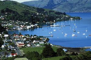 Akaroa on the Banks Peninsula is one of Canterbury's many attractions. Photo / Supplied