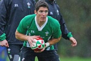 Regular first-five James Hook has been shifted to fullback for the test against the All Blacks. Photo / Getty Images