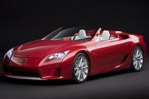 Lexus' recently-unveiled LFA supercar.