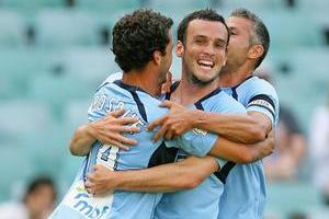 Sydney FC had the match sewn up by halftime. Photo / Getty Images
