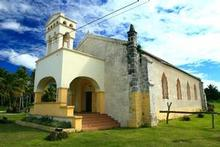 Luecila church,  built in 1923. Photo / Martin Sykes