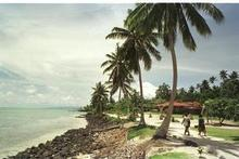 There are reports a child was lost in the tsunami when it hit Manono Island, pictured. File photo / NZ Herald