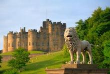 Alnwick Castle is known to all Harry Potter fans as Hogwarts. Photo / Supplied 