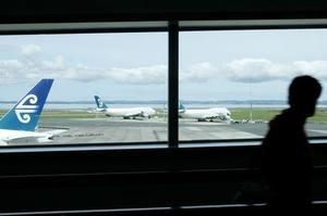 Auckland Airport's share price has tumbled since a partial takeover bid by a Canadian pension fund was scuppered by the Labour Government. Photo / Greg Bowker