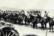 Troops of the ANZAC Mounted Division. Photo / Supplied