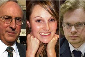 L-R: Gil Elliott, Sophie Elliott and Clayton Weatherston. Photos / Herald on Sunday / Supplied