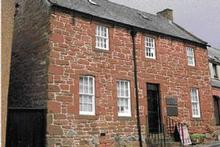 This cottage in Dumfries was where Robbie Burns spent the last  three years of his life.  Photo / Supplied