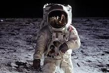 Aldrin is one of only 12 men to have walked on the Moon, a place he describes as a 'magnificent desolation'. Photo / Supplied