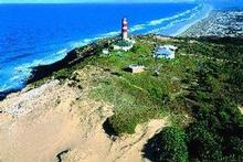 Moreton Island's iconic lighthouse has a tragic tale to tell. Photo / Tourism Queensland