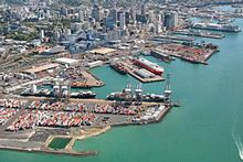 Since 1996 Ports of Auckland has reduced its waterfront footprint by nearly half. Photo / Supplied