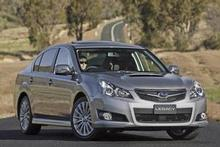 Subaru's Legacy GT has the added value but has it got the looks? Photo / Supplied