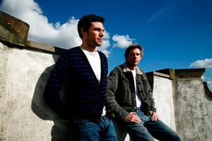 Tom Findlay and Andy Cato, otherwise known of Groove Armada. Photo / Supplied
