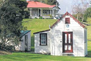 Te Aroha Domain's No 7 Bathhouse, in which Maori were segregated from Pakeha bathers.
