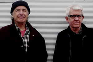 Ry Cooder and Nick Lowe. Photo / Supplied
