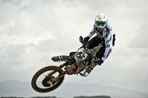 Josh Coppins has signed up with newcomer Aprilia for next season's MX1 championship. Photo / Supplied
