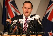 John Key has asked Federated Farmers to get in behind its emissions trading scheme, warning that consumers may not buy our products if they think New Zealand is not living up to environmental standards. Photo / Mark Mitchell.