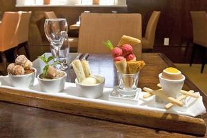 The dessert tapas at Zibibbo Restaurant, Wellington. Photo / Mark Mitchell