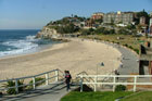 Bronte Beach is less crowded than Bondi but no less beautiful. Photo / Wikimedia Commons image from user KaiAdin