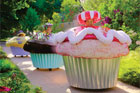 These customised cupcake cars would make for an exciting novelty race on Christmas afternoon. Photo / Supplied