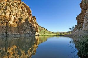 Ellery Creek Big Hole is a refreshing oasis in a dry land. Photo / Supplied