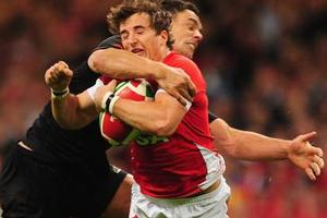 Dan Carter is sorry he high-tackled. Photo / Getty Images