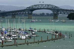 Auckland Harbour Bridge. Photo / Martin Sykes
