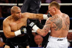 David Tua is expected to fight Friday Ahunanya, the first man to beat Shane Cameron. Photo / Getty Images