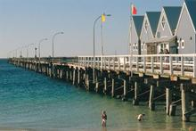 Busselton Jetty  in the Margaret River area. Photo / Tourism WA
