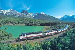 Riding the trains is a great way to take in the majestic scenery of the Rocky Mountains. Photo / Supplied