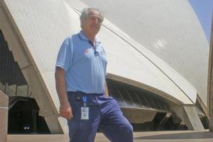 Steve Tsoukalas, head of maintenance at the Sydney Opera House. Photo / Supplied