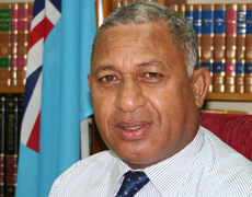 Frank Bainimarama. File photo / Dev Nadkarni