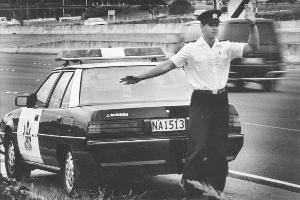 We live in more violent times than we did when the black-and-whites ruled the roads. File photo / NZ Herald