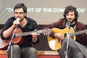 The Conchords' said the real Bret and Jemaine would still exist. File photo / Wairarapa Times Age