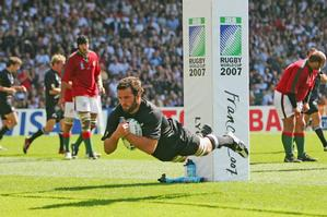 The All Blacks are a different proposition with Carl Hayman in the team. Photo / Getty Images