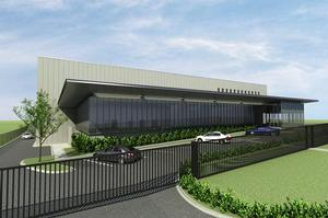 The IBM centre under construction at East Tamaki's Highbrook Business Park is due to open late next year. Photo / Supplied