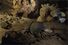 Mayan pots litter the floor of the awe-inspiring ATM Caves, rediscovered just 20 years ago. Photo / Getty Images