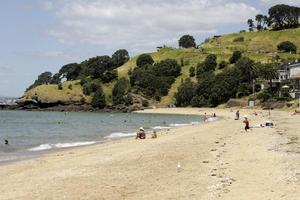 City beaches are relatively empty over the Christmas period, making for a restful change. Photo / Herald on Sunday