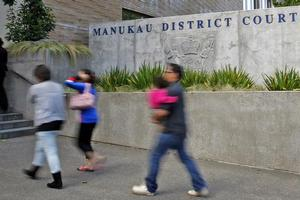Chief District Court Judge  Russell Johnson insists Manukau District Court is doing a magnificent job in meeting the demands placed on it. Photo / Sarah Ivey