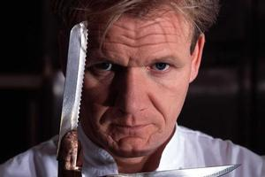 Has Gordon Ramsay had enough of the kitchen? Photo / Supplied