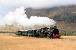 A charitable trust lodged a tender for the Kingston Flyer before finding out its trademark is tied up. Photo / Otago Daily Times