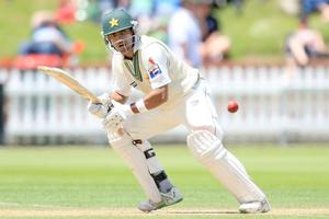 The Black Caps must remove Umar Akmal early to have a chance of winning the third test. Photo / Getty Images