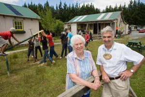 Joan and Graham Crawshaw run the Windy Ridge Boys' Farm. Photo / Paul Estcourt