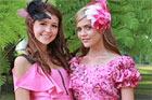 Olivia (R) and Charlotte Moor. Photo / Herald on Sunday