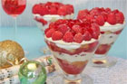Raspberry and mascarpone trifle. Photo / Supplied