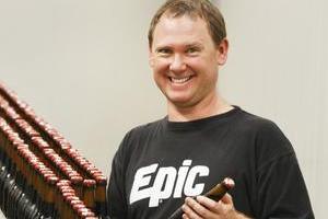 Luke Nicholas is finding a ready market for Epic. Photo / Steven McNicholl