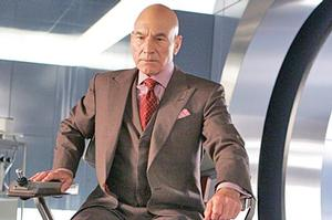 Sir Patrick Stewart gained a new legion of fans after his appearances as Professor Charles Xavier in the  X-Men  films. Photo / Supplied