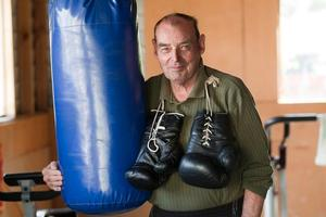 Kevin Barry senior says boxing has made a positive contribution to many people's lives. Photo / Christchurch Star