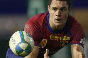 Dan Carter collected a cool €650,000 for his five games for Perpignan. Photo / Getty Images